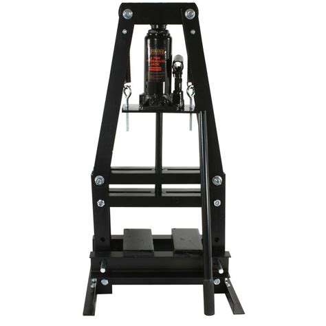 shop bench press tce 50 ton shop press tce50021 the home depot