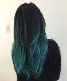 blue green hair color best 25 blue ombre hair ideas on light blue