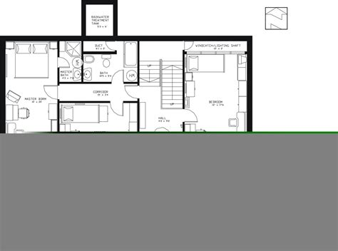 Earth Sheltered Home Floor Plans | earth sheltered passive home plan