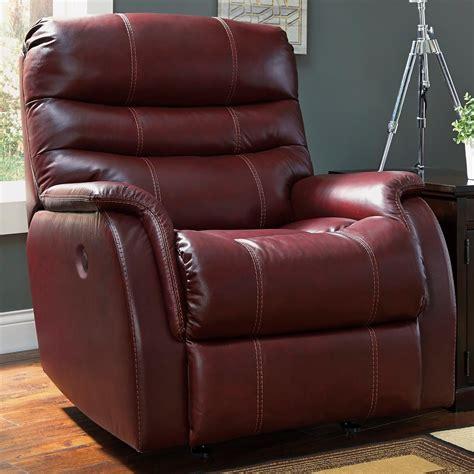 recliner lift chairs portland oregon signature design by bridger contemporary leather match power rocker recliner rotmans