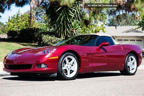 corvette monterey red cashmere  speed