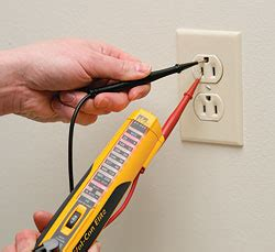 how to use a light tester use a voltage tester to work safely around electricity