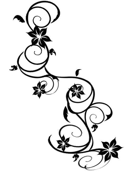 floral tribal tattoo designs vine tattoos designs ideas and meaning tattoos for you