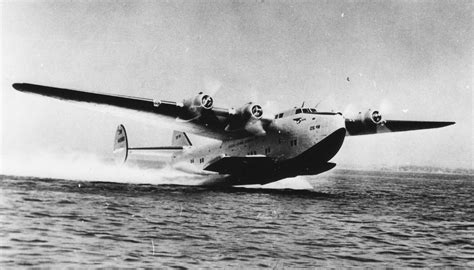 pan am flying boat 16th january 1942 churchill returns to britain by air