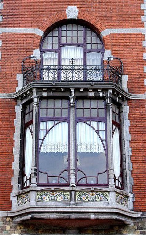 beautiful window art nouveau window and balcony by hylda h via flickr