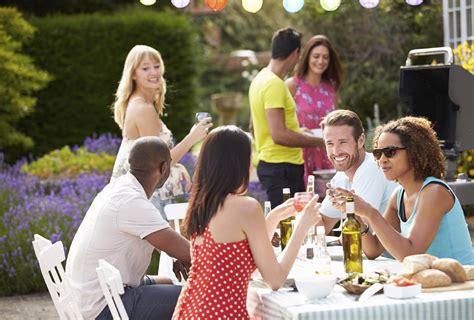 backyard friends how to host a backyard party bbq gentleman s gazette