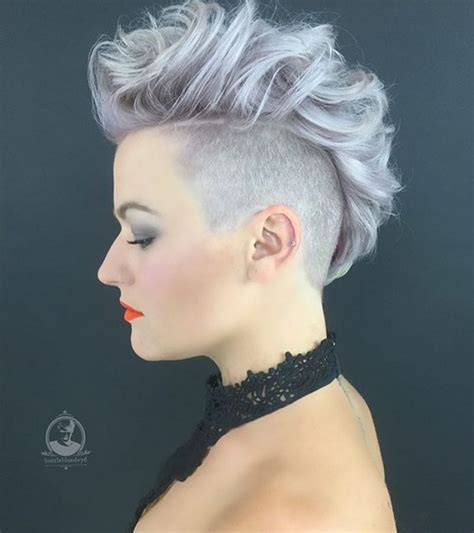 hairstyles for short hair mohawk 20 shorter hairstyles perfect for thick manes popular