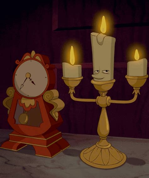 and the beast lumiere l lumiere on