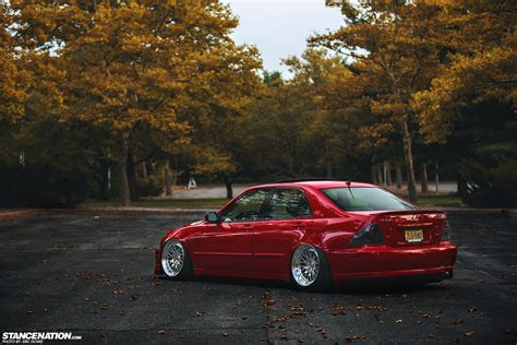 stanced lexus is300 definitely dapper chris 689whp lexus is300