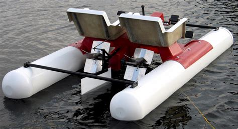 small boat paddle mini pontoon pedal boat for sale