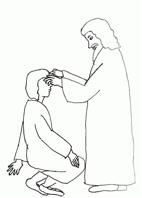 free bible coloring pages jesus heals blind bartimaeus coloring page coloring home