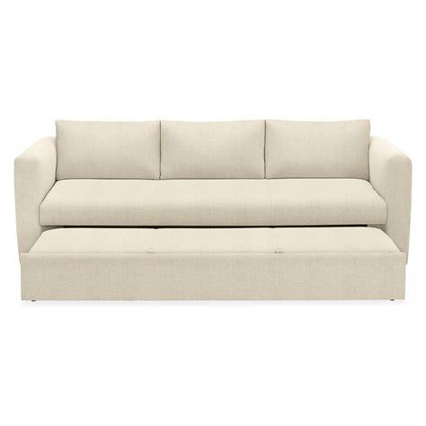 oxford pop up platform sleeper sofa baci living room