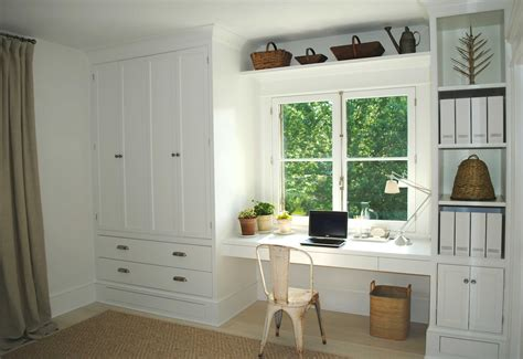 Wardrobe With Built In Desk by Tone On Tone New Home Office