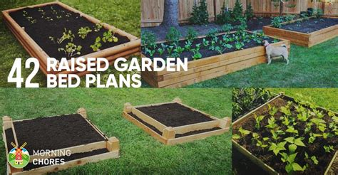 Diy Raised Garden Beds Plans - 42 diy raised garden bed plans amp ideas you can build in a day