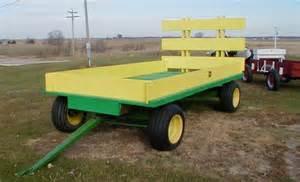 deere wooden hay rack wagon for sale