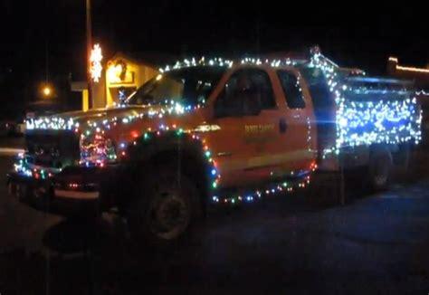 christmas light firetruck f150online com