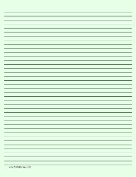 printable lined paper dark lines printable lined paper light green narrow black lines