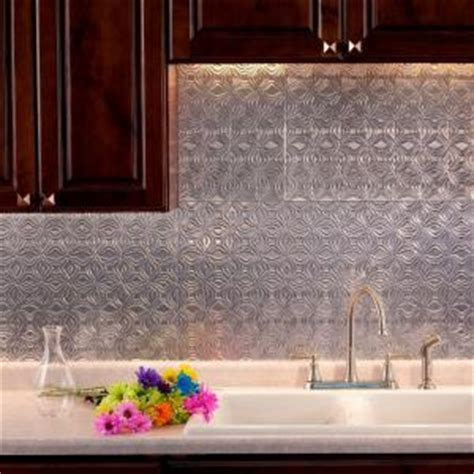 Fasade 24 in. x 18 in. Lotus PVC Decorative Tile