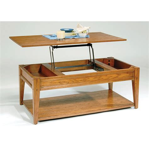 oak lift top coffee table lake house lift top coffee table oak coffee tables at
