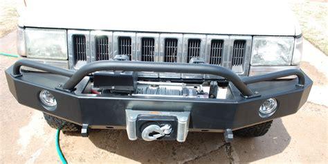 Jeep Zj Winch Bumper C4x4 Zj Grand Trailblazer Winch Bumper Zj Tbfwb