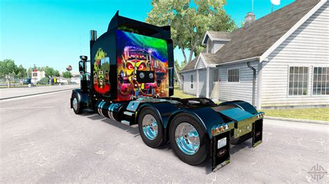 Skin Maximum Overdrive On The Truck Peterbilt 389 For