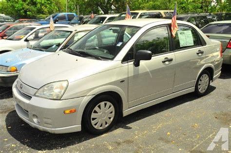 Suzuki 2003 Aerio 2003 Suzuki Aerio Gs For Sale In Plantation Florida