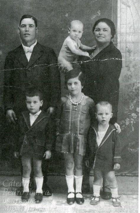 imagenes de la familia hernandez la familia de jos 233 hern 225 ndez el zurdo de elche 1930