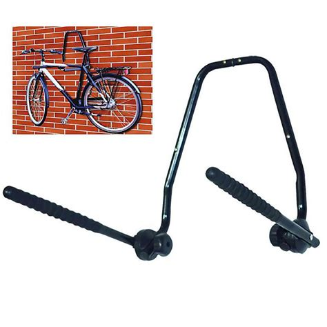 wall mounted 3 bike storage rack folding steel bicycle