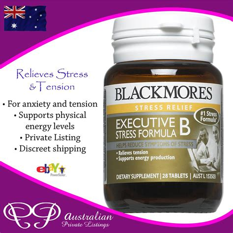 Vitamin B Complex Blackmores All Every Vitamin B S B1 B2 B5 B6 B12 Complex In A
