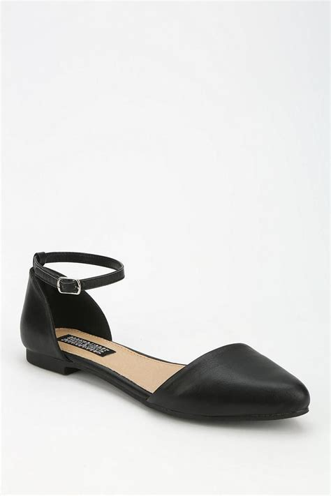 d orsay flat shoes deena ozzy ankle d orsay flat urbanoutfitters
