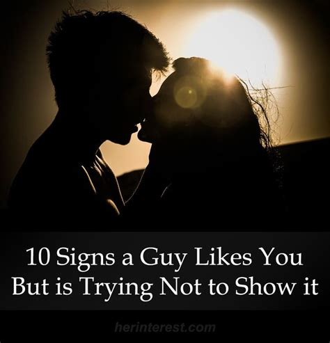 10 Signs Your Crush Likes You by 10 Signs A Likes You But Is Trying Not To Show It