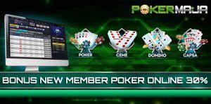 bonus  member poker pokermaja agen resmi poker