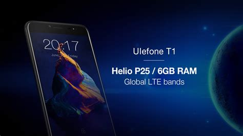 Ulefone T1 ulefone t1 to feature global 4g lte mtk helio p25 and 6gb
