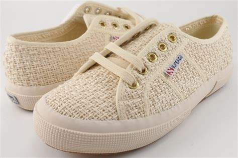 New Arrival Original Superga S Shoes Of Italy Superga 2750 Crochet White Lace Up Sneakers Womens 6 5