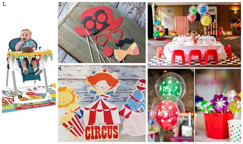circus theme decor adorable circus themed birthday savvy sassy