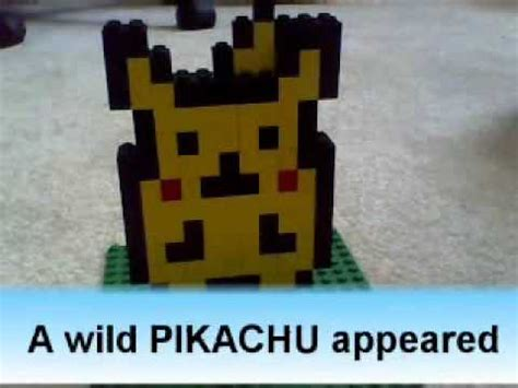 lego pokeball tutorial how to make lego pikachu and pokeball youtube