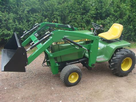 Garden Tractor Loader by Deere Simplicity Garden Tractor Front End Loaders Blank Title