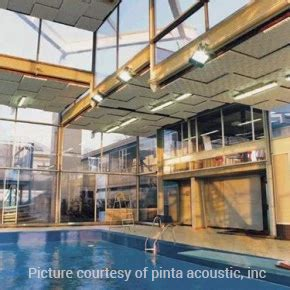 soundproofing pool noise indoor pools soundproofing memtech acoustical
