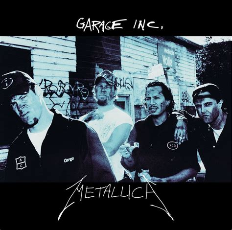 Metallica Garage enter a biography of metallica by mick wall is the
