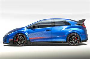 honda civic type r concept revs to 7000 rpm has adaptive