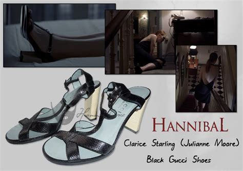 Gucci Saga Black the hannibal props museum clarice starling julianne