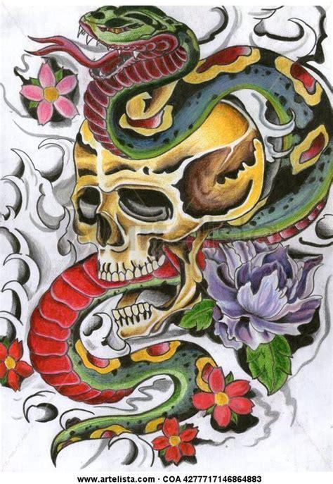 imagenes de calaveras y serpientes serpientes y calaveras diego otero artelista com