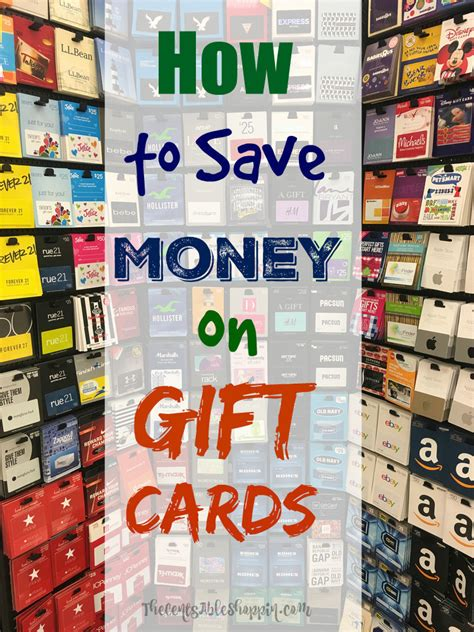 Save On Gift Cards - how to save money on gift cards