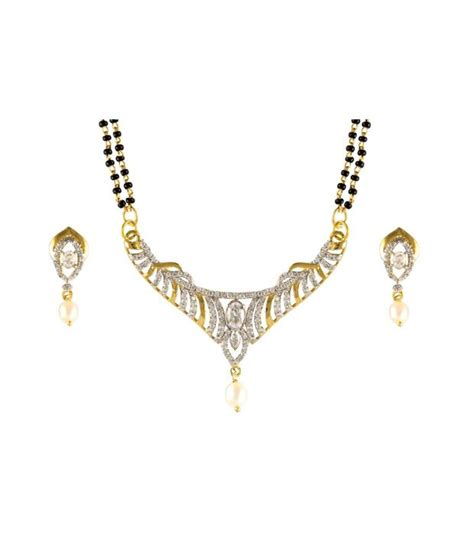 traditional mangalsutra with black pearlscart black traditional mangalsutra set buy
