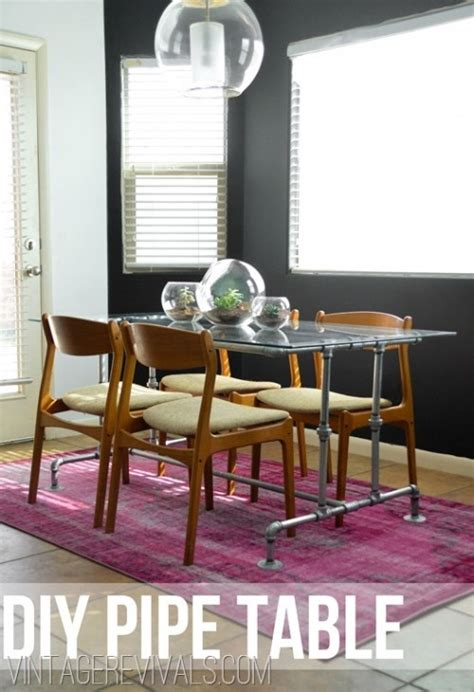 Diy Industrial Dining Room Table Diy Industrial Dining Tables For Indoors And Outdoors