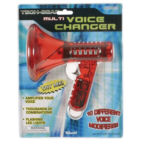 Multi Voice Changer By Toysmith Geekextreme