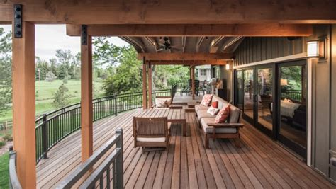 brilliant transitional deck designs