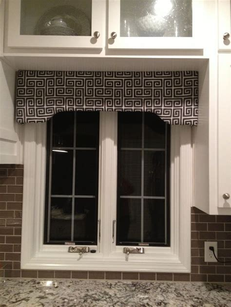 Window cornice made from Joann's cornice kit.   Fun at