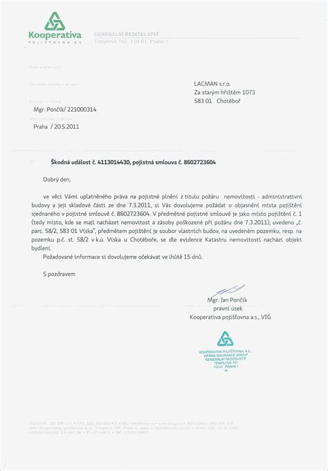 Car Accident Settlement Letter Template Sles Letter Cover Templates Car Settlement Letter Template