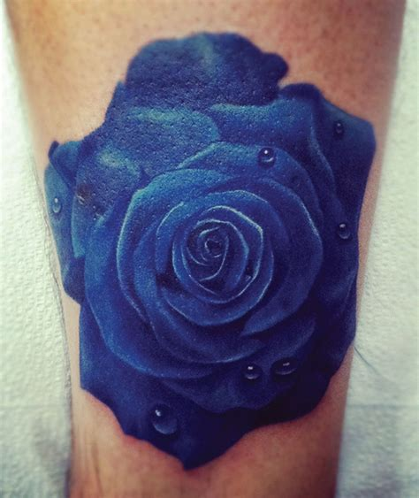 dark blue rose tattoo the gallery for gt designs